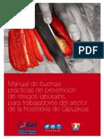 Manual de buenas prácticas sector Hostelería(PRL)