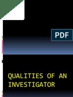 Principles of Criminal Investigation