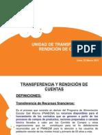 PRESENTACION TRANSFERENCIAS