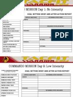 04 Commando Mission Calendar