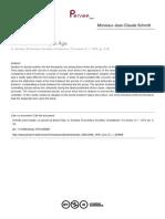 Le suicide au Moyen Âge. Artículo (J.-C. Schmitt).pdf