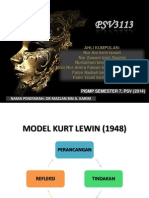 Model Kurt Lewin - Topeng