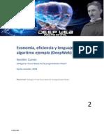 Informatica 2 - Eficiencia y Lenguaje de Algoritmo