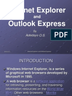 Internet Explorer and Outlook