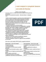 Analiza SWOT a Unei Companii Ce Pregateste Lansarea Unei Retele de Franciza
