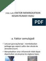 Faktor Dan Kesan Rumah Hijau