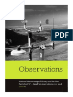 National Meteorological Library and Archive Fact sheet 17  — Weather observations over land