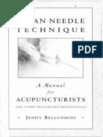 Belluomini - Clean Needle Technique