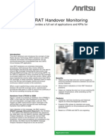 UMTS Inter-RAT Handover Monitoring