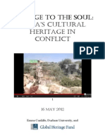 DAMAGE TO THE SOUL. SYRIA´S CULTURAL HERITAGE IN CONFLICT..pdf