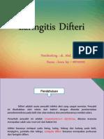 laringitis dftr PPT