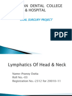 Lymphatics of Head & Neck