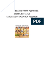 What You Need to Know About the Statia Language in Education Research