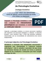 Psicologia Evolutiva e Velhice