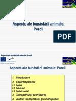 Aspecte ale bunăstării animale