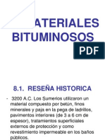8.-  Materiales bituminosos