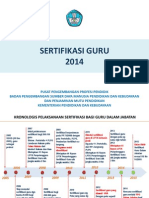 Rancangan Sertifikasi Guru 2014