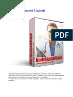 152055019 Teste Grila Asistenti Medicali