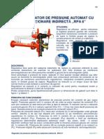 Regulator de Presiune Automat Cu Actionare Indirecta Tip RPA6