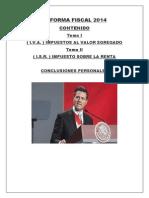 Reforma Fiscal 2014 Exposicion Zamudio