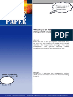 White Paper for TechDay 2013