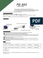Sjgd Pg 800 Manual En