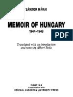 204715676-Sandor-Marai-Memoir-of-Hungary-1944-1948.pdf