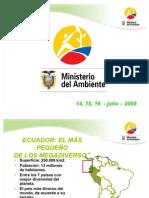 Area Naturales Del Ecuador