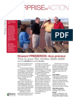 Professor Howard H. Frederick - Valedictory Festsprach Programme - Unitec New Zealand
