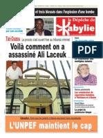La Depeche de Kabylie Du 04.02.2014