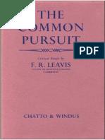 Leavis - The Common Pursuit