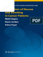 Prevention of Nausea and Vomiting in Cancer Patients