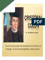 Unidad 1 Cristóbal Colón - Sara Betancur