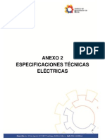 Especificaciones Electricas Para Escuela Del Milenio