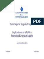 MIII Trabajo ImplicacionesPoliticaEnergeticaEuropea Pres