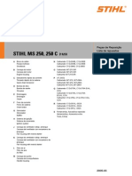 Lista Repuestos MS250C