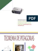Terorema de Pitagoras