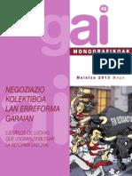 Gai Mon. n.o 45 Como No Doblegarse a La Reforma Laboral