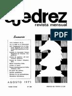 Ajedrez 208-Ago 1971 Ocr