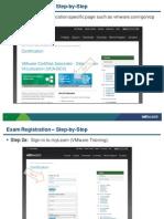 VMWARE Certification Exam Registration
