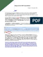 Excel 2007 tut