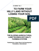 Sloping Agricultural Land Technology (SALT) Farming System