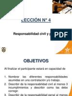 Responsabilida Civil y Penal de Trabajo en Alturas