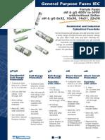 General Purpose Fuses IEC