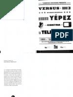Heriberto Yepez Contra La Tele-Vision