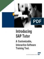 0076607 Introducing SAP Tutor