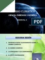SESION No. 2 - Cambio Climático