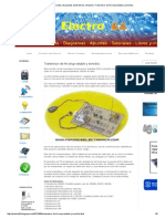 Electro 64 _ Circuitos, Esquemas electrónicos y Arduino_ Transmisor de fm (muy estable y sencillo)