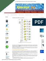 Electro 64 _ Circuitos, Esquemas electrónicos y Arduino_ Vúmetro de 8 LEDs con LM324