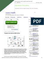 Electronica Diagramas Circuitos_ Cargador para baterías NiMH de flote
